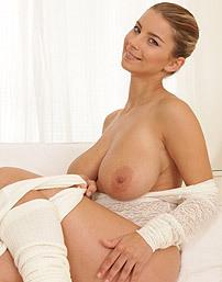 Busty Blonde Katerina Hartlova