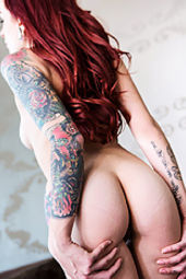 Sexy Slut Tristyn With Tattooes