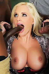 Alena Croft Interracial Gangbang