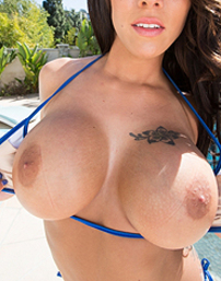 Peta Jensen Enjoying His Hard Cock